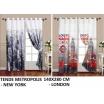 Tenda da interno casa tessuto di alta qualità