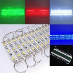 20 MODULI LUCI LED SMD striscia barra rigida componibile tagliabile retro illuminazione