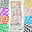 Sticker Adesivi strass brillantini 4/5mm