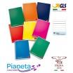 10 Maxi Quaderni A4 Pigna Colours Rigatura 1R