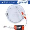Pannello led rotondo 6 12 18W da incasso lampada faretto tondo da soffitto slim luce calda naturale Mapam