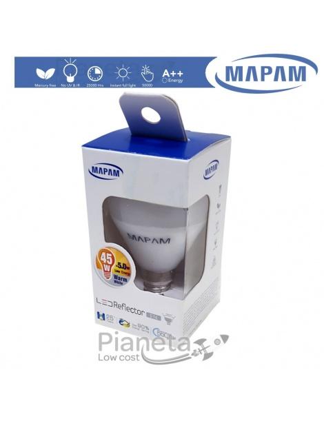 Lampadina LED E14 5W Watt Equiv. 45W High Power LUCE Fredda Naturale Calda Mapam