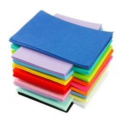 Pannolenci Panno lana Lenci feltro colorato Maxi 50x70cm spessore 1 mm 20 colori