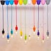 Porta lampada in vari colori