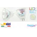 GU4 MR11 Faretto LED Spot lampadina 3W 220V SMD luce bianco freddo