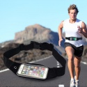 Marsupio vita Porta Smartphone da corsa viaggioTouch Impermeabile iphone running