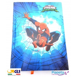 Diario Spiderman Marvel agenda 12 mesi