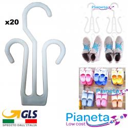 20pz Grucce per Sandalo Scarpe Pantofole esposizione arredo negozio allestimento