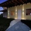 Applique da Esterno ip55 Muro doppia illuminazione giardino parete balcone gu10