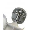 Porta spazzolini da bagno singolo doppio acciaio cromato ottima qualità