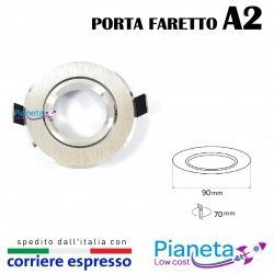 Porta Faretto A2 orientabile controsoffitto Lampadine led GU10 MR16