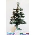Albero di natale verde innevato artificiale 45 cm addobbo natalizio