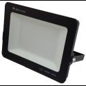 Faro led slim da esterno 100w IP65 faretto smd altà luminosità luce calda fredda metallo nero