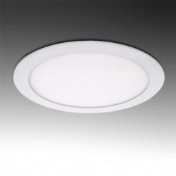 Pannello led rotondo slim 18w ip20 da incasso faro faretto bianco luce calda naturale fredda Downlight
