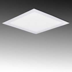 Pannello led quadrato bianco slim 24w incasso faro luce fredda naturale calda