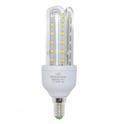 Lampadina led E14 7w 3U tubolare luce naturale 4000k