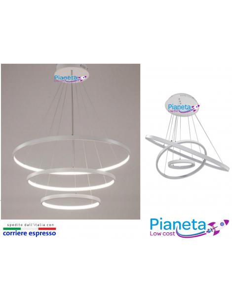 Lampadario Sospensione moderno 50w arredamento lampada plafoniera