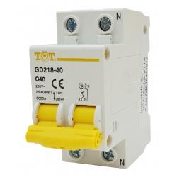 interruttore magnetotermico 2P+N 6 kA 2 DIN 10 16 20 25 32A fino 63 ampere