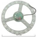 Ricambio lampadina luce led 10w 14.5 cm cm plafoniera circolare sostituzione circolina neon T9