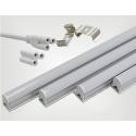 Neon tubo LED T5 120cm Sottopensile 16W Luce Calda e Fredda Plafoniera Mapam