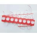 20 moduli led 5630 SMD striscia barra rigida componibile tagliabile retro illuminazione