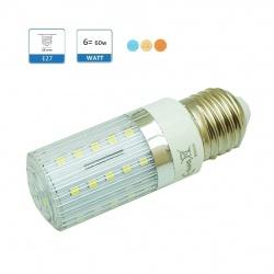 Lampadina led E27 6w  mais  luce bianca calda naturale illuminazione led