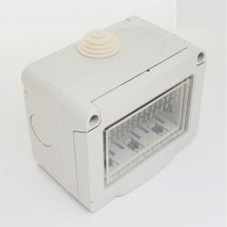 Cassetta esterna idrobox compatibile Matix IP55 scatola impermeabile da esterno