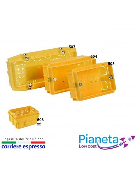 Scatola Cassetta Incasso Derivazione 503 504 506/7 placche supporti