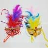 Maschere Veneziane Ricamate in due colori e temi