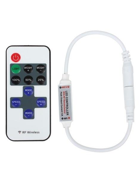 Telecomando Dimmer per strip led 5v 12v o 24v striscia led controller wireless