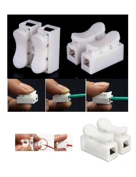 Set 10 morsetti connettori a leva cavi elettrici 10a connettore Collegamento rapido