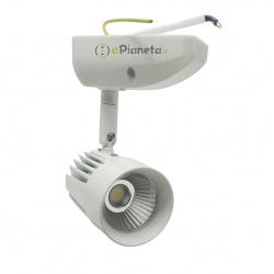 Faretto proiettore LED 11W spot soffitto orientabile bianco luce vetrina negozio