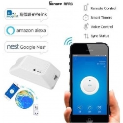 Interruttore smart Switch basic Sonoff remote control wi fi wireless per smartphone  casa