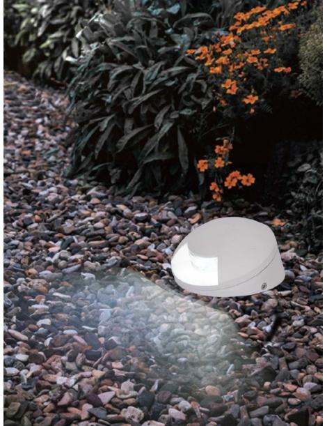 Segnapasso 4w impermeabile IP65 applique bianco luce led esterno 6500k 3000k