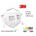 X10pz mascherine 3M certificate kn90 ffp1 maschere protezione viso alta qualità