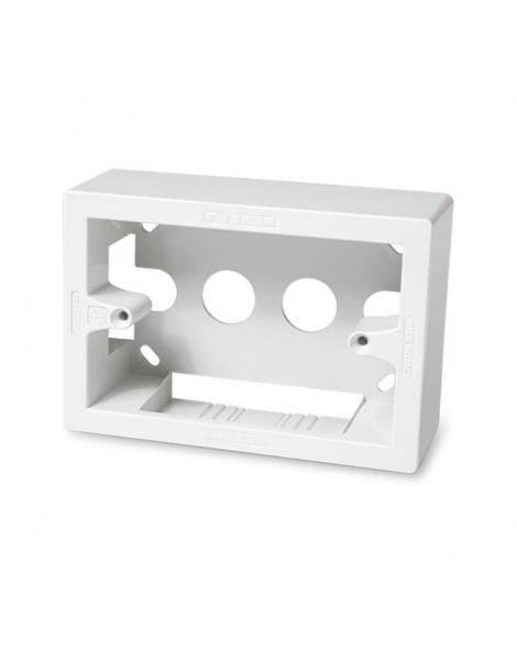 Cassetta esterna scatola 503 bianca 3 moduli per canalina
