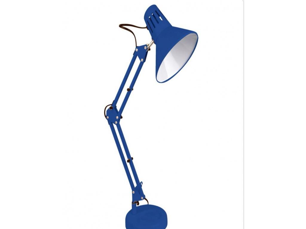 Lampada Da Scrivania E27 Braccio Snodabile Luce Da Tavolo Base Morsetto Incluso