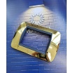 Placche oro cromato lucido compatibili Living Inter Light 3 4 7 posti e supporti
