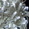Catena luci natale 300 led serie luminosa natalizie per esterno interno albero cavo trasparente