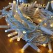 Tenda luminosa catena luci per natale feste natalizie addobbo esterno impermeabile IP44 professionale
