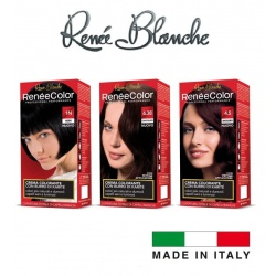 CREMA COLORANTE CAPELLI RENE'E BLANCHE COLOR HAIR professionale