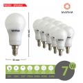 X10 Lampadina led E14 bulbo A55 7w attacco piccolo luce bianca naturale calda Mapam