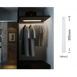 Lampada per armadio luce led 3w con sensore di movimento barra ricaricabile usb sottopensile