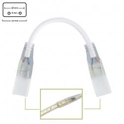 Cavo 2 connettore per striscia led 220V 5mm monocolore collegamento giuntura 2 pin