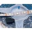 Kit completo striscia led RGB 5 metri 12V 14W con telecomando trasformatore strip impermeabile esterno
