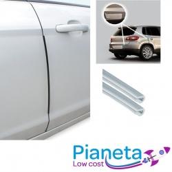 4 salvaporta argento adesivi per auto